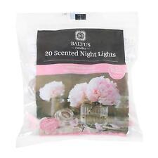 Baltus scented 20 peony Tealight Night Light Candle Peony & Blush Suede Edition
