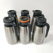 Lot Of 6 Fetco Stainless Steel 19l Thermal Coffee Tea Server Pots Urns Ticass19