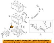 HYUNDAI OEM 12-16 Sonata 2.4L-L4-Battery Hold Down Tie Bracket Clamp 371602W000