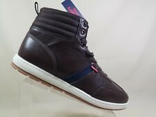 MENS LEVI STRAUSS HIGH TOP SNEAKERS SIZE 13  TWO TONE BROWN NWT