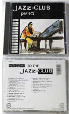 JAZZ CLUB Piano - Thelonious Monk, Keith Jarrett,... 1989 Black Verve CD