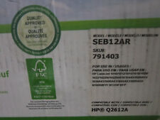 HP Q2612A SEB12AR Compatible Toner Cartridge Sustainable Earth Staples Laser Jet