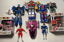 Vintage Power Rangers Mixed Megazord Figure & Pop Lot Bandai 1993-1999