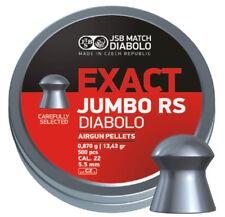 JSB Exact Jumbo RS Diabolo Pellets cal .22 (5.52 mm) 500 pcs