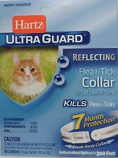 HARTZ ULTRAGUARD REFLECTING FLEA & TICK COLLAR CATS & KITTENS 7 MONTH PROTECTION