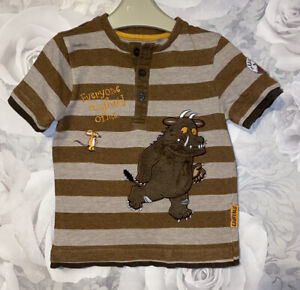 Boys Age 12-18 Months - The Gruffalo Short Sleeved Top
