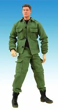 """Stargate SG1 Cameron Mitchell 12"""" Cloth Action Figure Sold Out New MIB Mint"""
