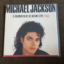 Michael Jackson - Bad 7'' Single LP PROMO SNIPPETS