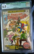 Amazing Spider-Man Annual #6 CGC 6.0 1969 (Missing Some Pages)