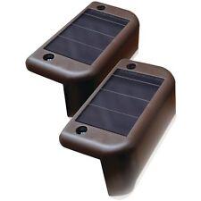 MAXSA INNOVATIONS 47332 Solar-Powered Deck Lights, 4 pk
