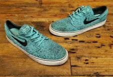 Nike Skateboard Stefan Janoski Shoes Men's Size 12 Green Black 375361-302