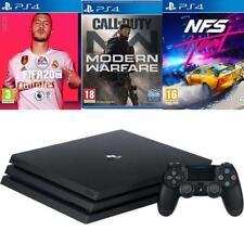 Sony PS4 Pro 1TB Call of Duty Modern Warfare Fifa 20 NFS Heat New
