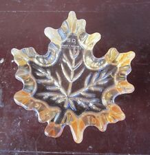 Simon Designs amber shimmer maple leaf figurine for sale by owner!!!