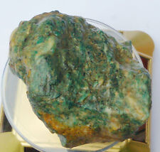 Maw Sit Sit Chromium Jade Natural Rough 2000 carats - The only Mine is finished!