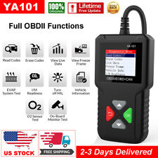 YA101 Automotive OBD2 Scanner Code Reader Car Check Engine Fault Diagnostic Tool