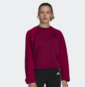 ADIDAS WOMEN'S Z.N.E. COLD.RDY ATHLETICS CREW SWEATSHIRT FS2384 SIZE XS