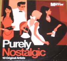 Purely Nostalgic (CD), Everly Brothers, Maralyn Monroe, Dobie Gray, Peggy Lee...