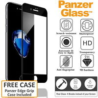 PANZER GLASS Screen Protector Fr iPhone 6 6S Full Tempered Saver Cover FREE CASE
