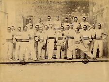 ESCRIME c. 1890 - Groupe Escrimeurs 27 x 20