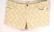 NWT Crystal Vogue Multi-color Size 24 3XL Shorts Cotton Blend Stretch