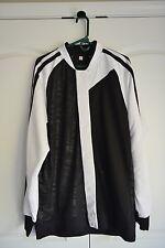 Black & White Basketball Warm-up Jacket (2XL)