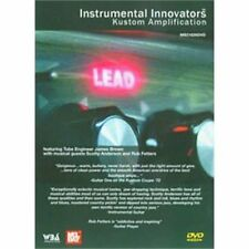 """INSTRUMENTAL INNOVATORS-KUSTOM AMPLIFICATION"" GUITAR DVD SEALED BRAND NEW SALE!"