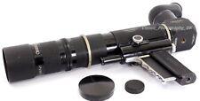 NOVOFLEX Noflexar Lente de enfoque de seguimiento 5.6/300mm + Visoflex para Leica IIIa IIIC 3g