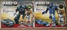 Transformers Kre-O set both Mirage Jazz 31145 31146 new sealed unopened kreon