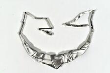 LAPPONIA Silber Collier Origami ° Design Zoltan Popovits ° Finnland 1980