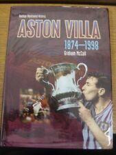 1998 Football Book: Aston Villa - Hamlyn Illustrated History Aston Villa 1874-19