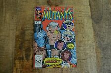 New Mutants 87 Marvel 1990 1st Cable App Comic Book VF 7.0