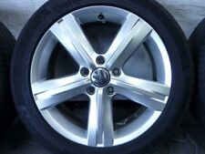 ALUFELGEN ORIGINAL VW FONTANA PASSAT 3C EOS SOMMERREIFEN 235/45 R17 CONTI DOT16