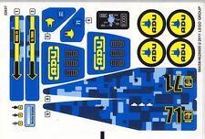 LEGO 7066 - Alien Conquest - Earth Defense HQ (Sheet 2) - STICKER SHEET