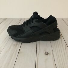 Nike Huarache Triple Black Running Shoes 654275-016 Size 5Y Youth