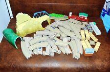 Thomas Train lotto +50 pcs Sodor binari playset railway track sfusi spare bundle