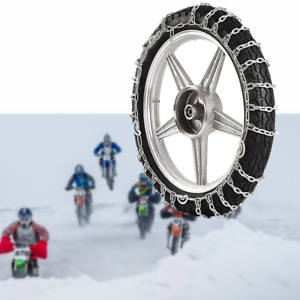 For 300-18 Tire Snow Tire Chain Motorcycle Anti-Skid Emergency Winter Driving