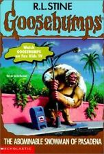 The Abominable Snowman of Pasadena (Goosebumps)-ExLibrary