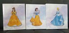 (3) Precious Moments, Disney Showcase Collection, Porcelain bisque figurines