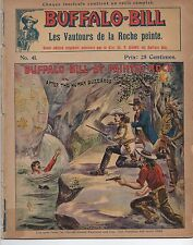 1900 French Edition of Buffalo Bill Magazine with Graphic Color Cover