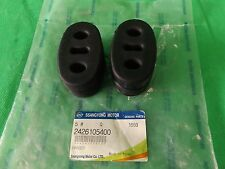 GENUINE SSANGYONG MUSSO SPORTS UTE 2.9L TD ALL MODEL MUFFLER HANGER X 2EA