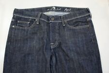 7 FOR ALL MANKIND WOMEN'S Bootcut Flint Blue Jeans Waist 31 size 12