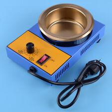 220V 300W 100MM Electric Solder Pot Tin Melting Furnace Casting Pouring Crucible