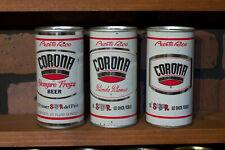 3 Corona pull tops - Puerto Rico