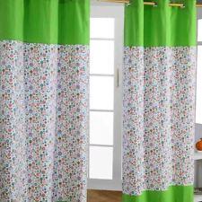 Floral 100% Cotton Curtains for Children