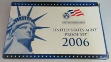 More details for united states mint proof 2006 10 coin set presented in two clear hard cases
