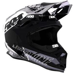 509 Altitude Snowmobile Helmet - Chromium Stealth w/ Fidlock - F01000100-___-602