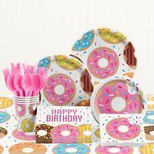Donut Birthday Party Supplies Kit