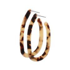 Acetate Drop Earrings Dangle Vintage Oval Acrylic Geometric For Women Jewelry