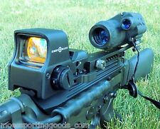 Night Vision Rifle scope 2X NV Monocular with NV Red Dot Scope Combo Sightmark