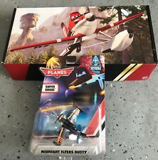 Disney Pixar PLANES MIDNIGHT FLYERS DUSTY ** VERY RARE ** with and exclusive box